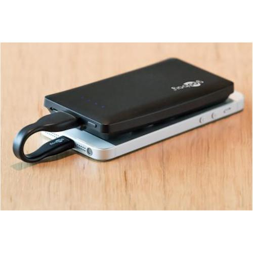 Powerbank - 4.000 mAh - Zwart