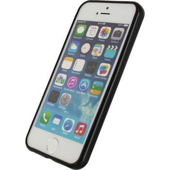 Afbeelding van Back cover voor iPhone SE Zwart Mobilize