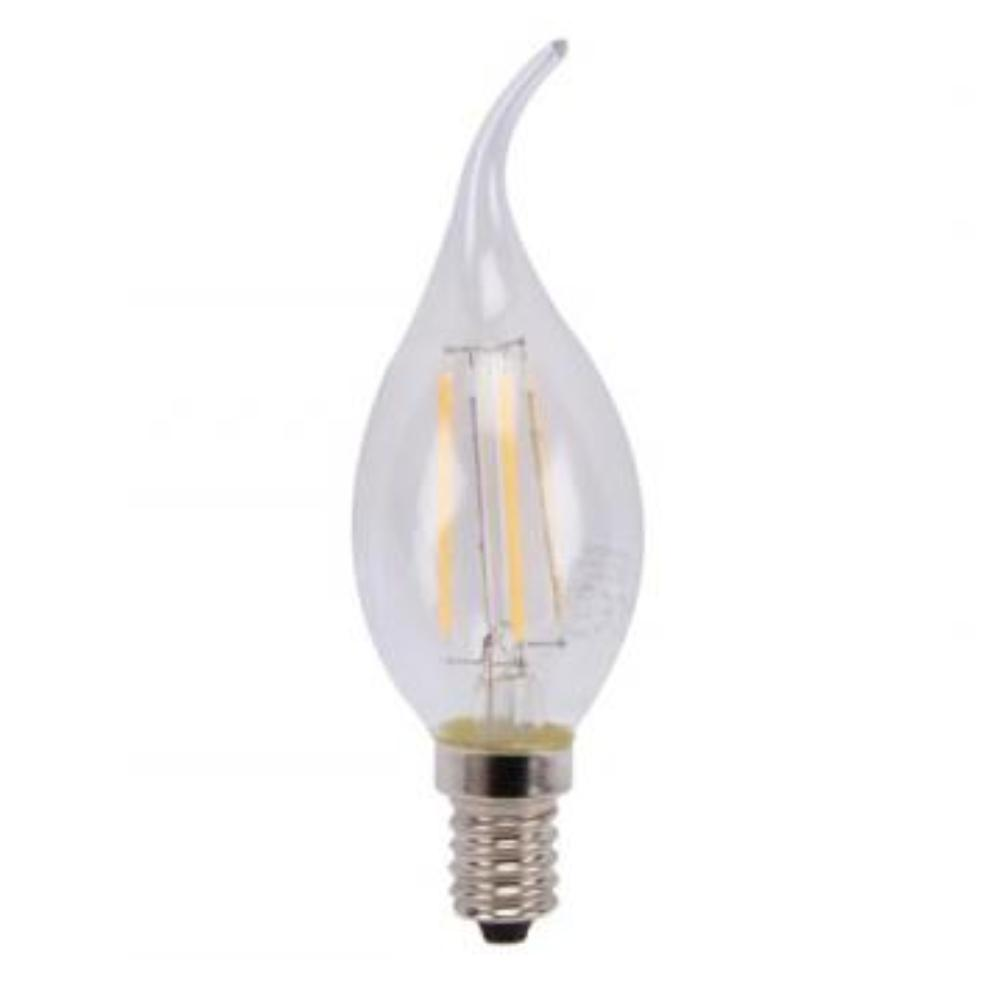 E14 LED lamp Lichtkleur: Warm wit