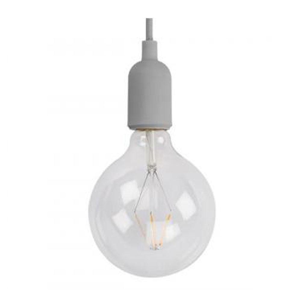 Voorkeur E27 Hanglamp armatuur - Retro Grijs - Hanglamp Armatuur - Grijs CL13