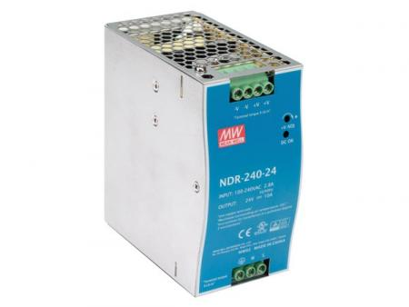 Single Output Industrial Din Rail Power Supply 240W Nominale stroom: 10 A