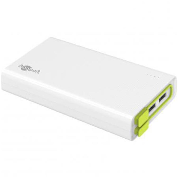 Powerbank - 20.000 mAh Laadstroom: 2000 mA