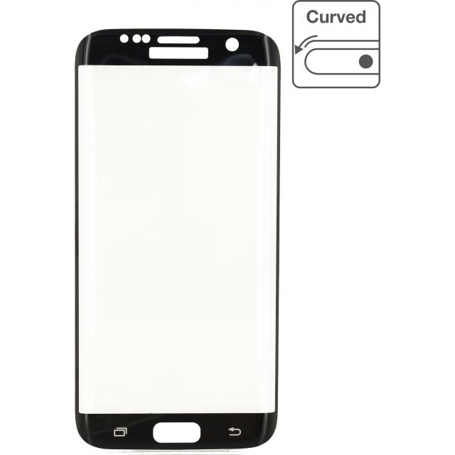 Edge-To-Edge Glass Screenprotector Samsung Galaxy S7 This screen protector fits perfectly on your screen and is easy to install. The screen protector does not affect the touch functionality, brightness, colours or the resolution of your screen
