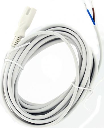 Afbeelding van Cavus AC kabel met open eind 5 mtr. [wit]