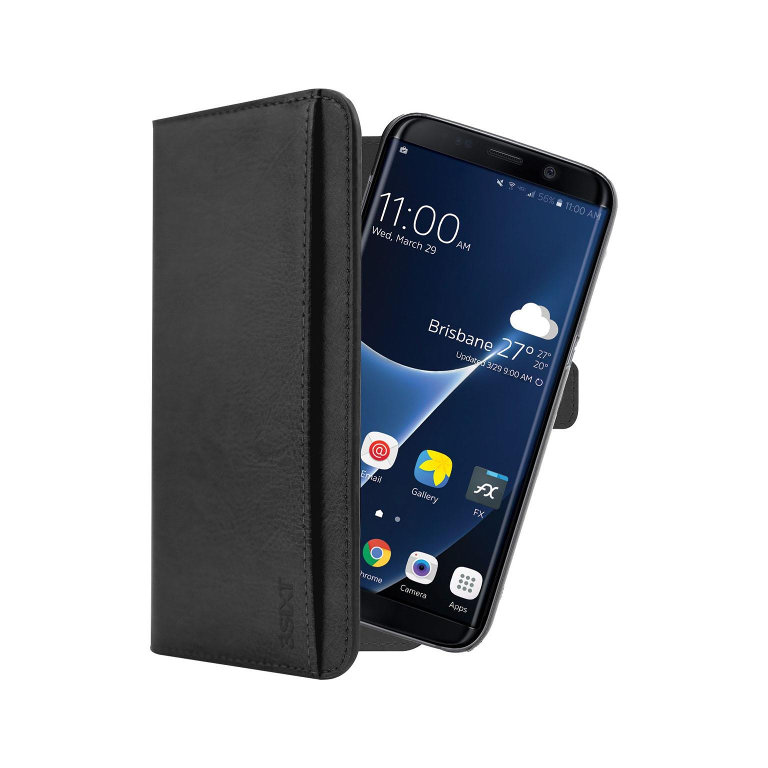 Afbeelding van Samsung Galaxy S8 Telefoonhoes Zwart 3SIXT