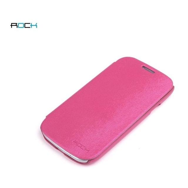 Afbeelding van Rock Big City Leather Flip Case Samsung Galaxy SIII I9300 Rose Red R