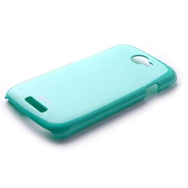Afbeelding van Rock Colorful Cover HTC One S Turquoise Blue