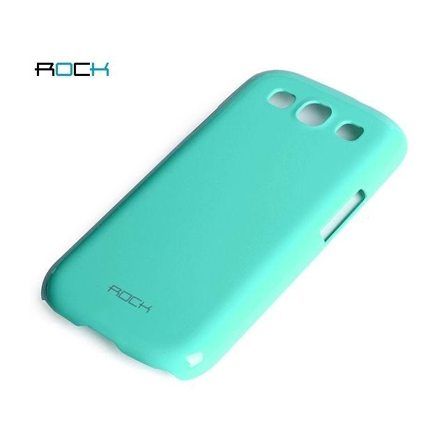 Afbeelding van Rock Colorful Cover Samsung Galaxy SIII I9300 Turquoise Blue