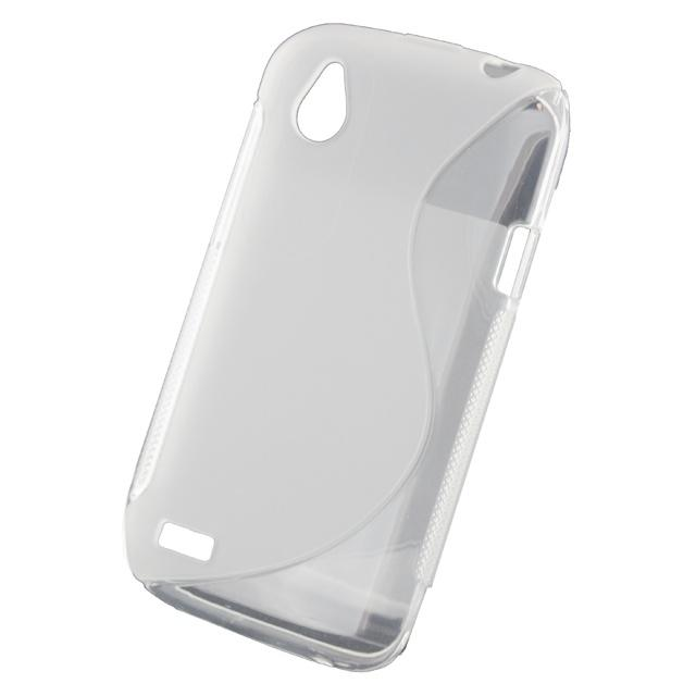 Xccess TPU Case HTC Desire X Transparent White Xccess TPU Case HTC Desire X Transparent White