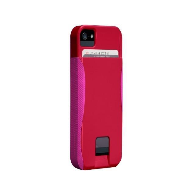 Afbeelding van CM022410 Case Mate Pop ID Apple iPhone 5 Red