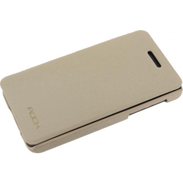 Afbeelding van Rock Big City Leather Side Flip Case BlackBerry Z10 Cream