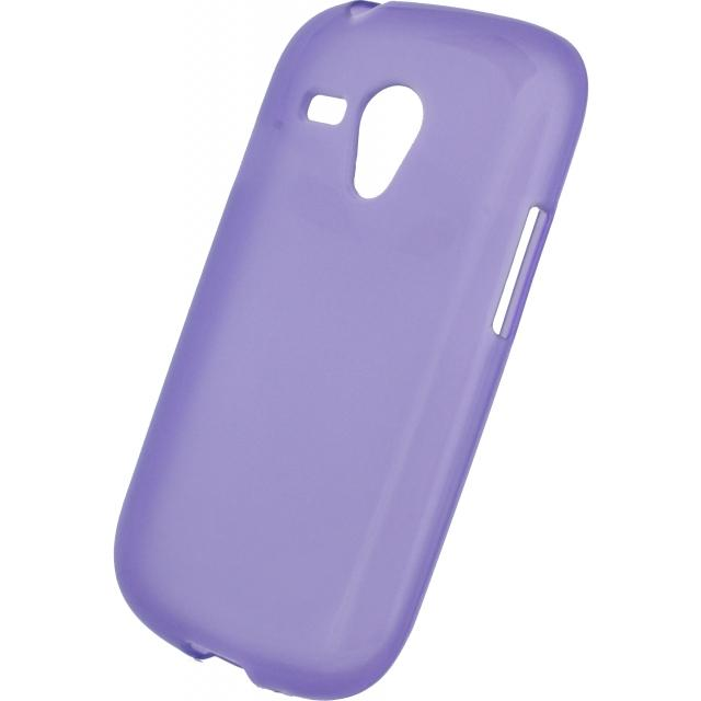 Mobilize Gelly Case Samsung Galaxy SIII Mini I8190 Transparent Purple Mobilize Gelly Case Samsung Galaxy SIII Mini I8190 Transparent Purple