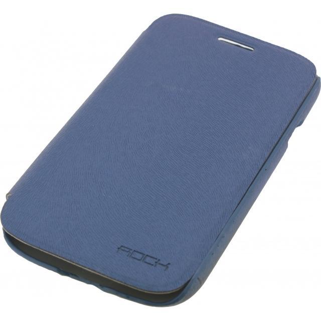Afbeelding van Rock Big City Leather Side Flip Case Samsung Galaxy Grand I9080 Dark B