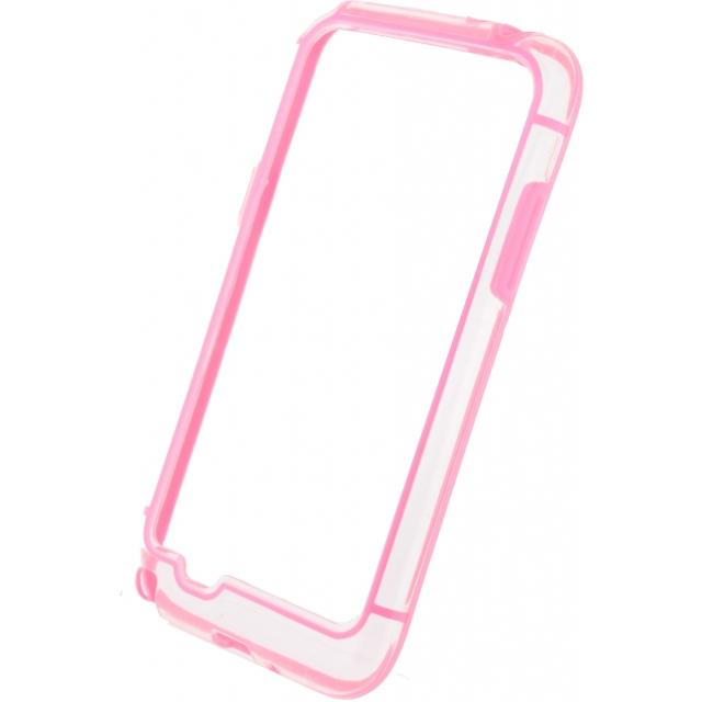 Xccess Hard Bumper Case Samsung Galaxy Grand I9080 Pink/Transparent Xccess Hard Bumper Case Samsung Galaxy Grand I9080 Pink/Transparent