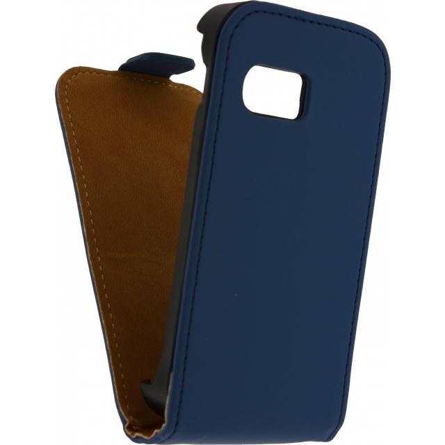 Afbeelding van Mobilize Ultra Slim Flip Case Samsung Galaxy S5 Mini Dark Blue Mobil
