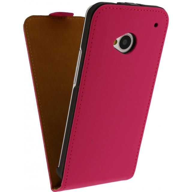 Mobilize Ultra Slim Flip Case HTC One Fuchsia Mobilize Ultra Slim Flip Case HTC One Fuchsia