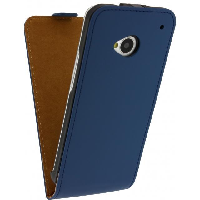 Afbeelding van Mobilize Ultra Slim Flip Case LG L Fino Dark Blue