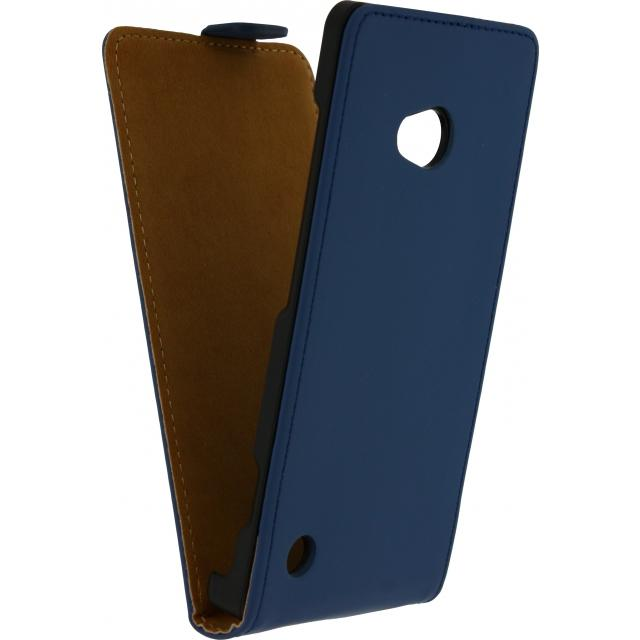 Afbeelding van Mobilize Slim Wallet Book Case Nokia Lumia 830 Dark Blue