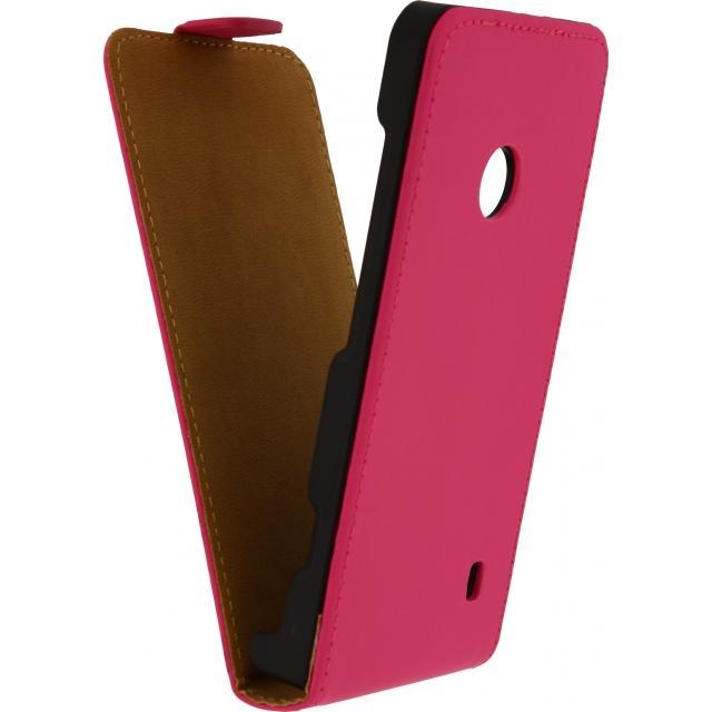 Afbeelding van Mobilize Ultra Slim Flip Case LG L Bello Fuchsia