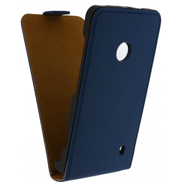 Afbeelding van Mobilize Ultra Slim Flip Case Nokia Lumia 530 Dark Blue