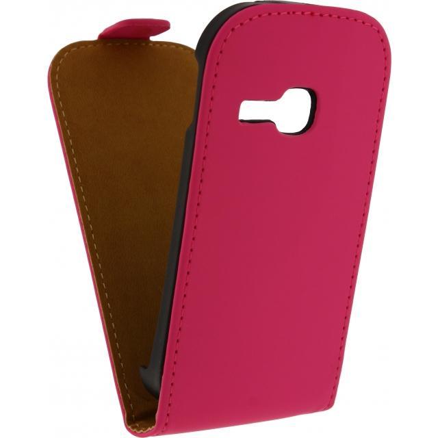 Afbeelding van Mobilize Ultra Slim Flip Case Samsung Galaxy Young 2 Fuchsia Mobiliz