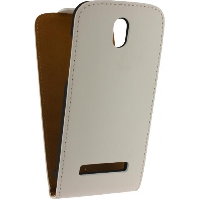 Afbeelding van Mobilize Ultra Slim Flip Case HTC Desire 510 White