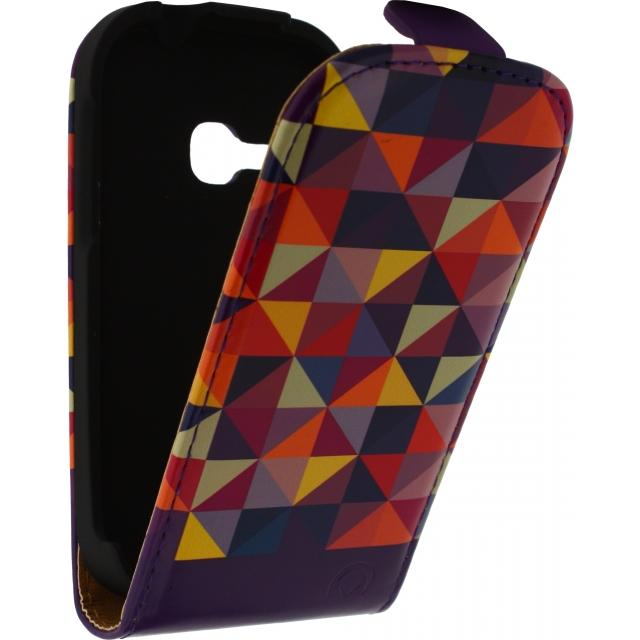 Mobilize Ultra Slim Flip Case Samsung Galaxy Young S6310 Viola Triangle Mobilize Ultra Slim Flip Case Samsung Galaxy Young S6310 Viola Triangle
