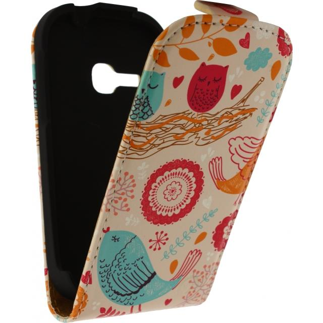 Mobilize Ultra Slim Flip Case Samsung Galaxy Young S6310 Birds Mobilize Ultra Slim Flip Case Samsung Galaxy Young S6310 Birds