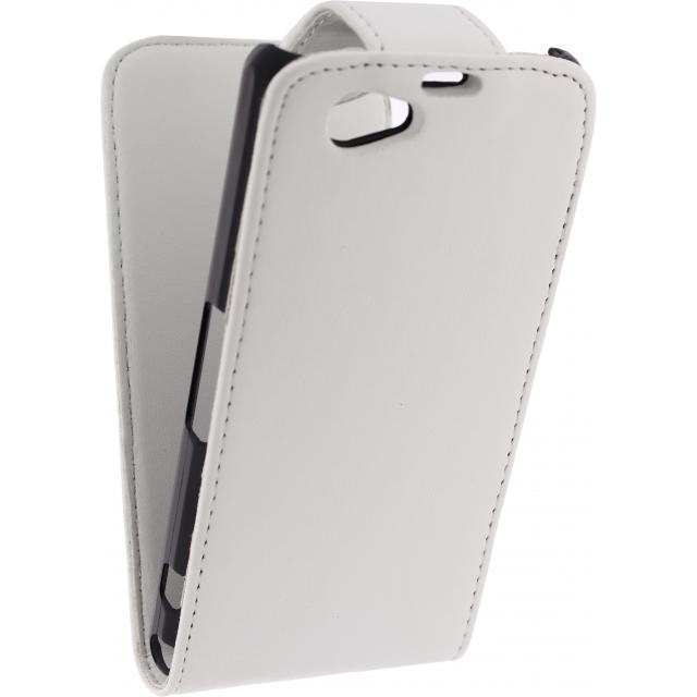 Xccess Flip Case Sony Xperia Z1S White Xccess Flip Case Sony Xperia Z1S White