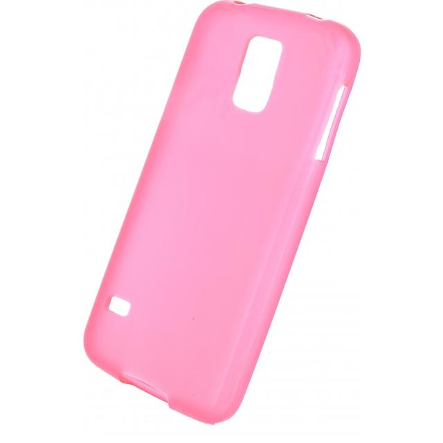 Mobilize Gelly Case Samsung Galaxy S5/S5 Plus/S5 Neo Transparent Pink Mobilize Gelly Case Samsung Galaxy S5/S5 Plus/S5 Neo Transparent Pink