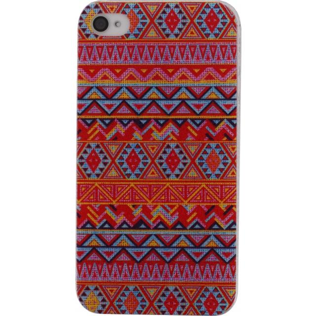 Xccess Cover Apple iPhone 4/4S Orange Aztec Xccess Cover Apple iPhone 4/4S Orange Aztec