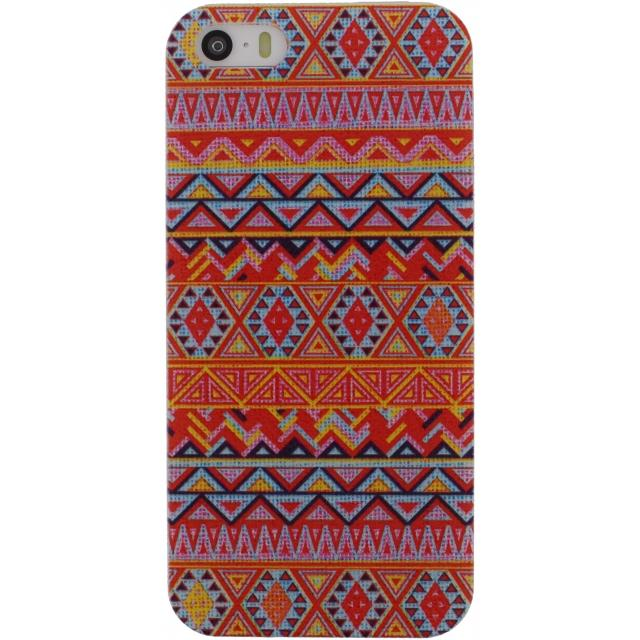 Xccess Cover Apple iPhone 5/5S/SE Orange Aztec Xccess Cover Apple iPhone 5/5S/SE Orange Aztec
