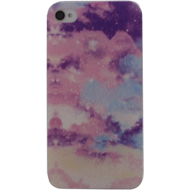 Afbeelding van Xccess Cover Apple iPhone 5/5S/SE Pink Sky