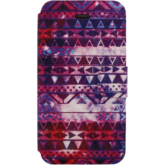 Xccess Book Stand Case Apple iPhone 4/4S Aztec Purple Xccess Book Stand Case Apple iPhone 4/4S Aztec Purple