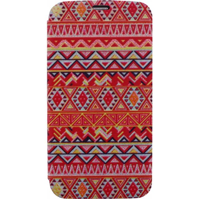 Afbeelding van Xccess Book Stand Case Samsung Galaxy S4 I9500/I9505 Aztec Orange Xc
