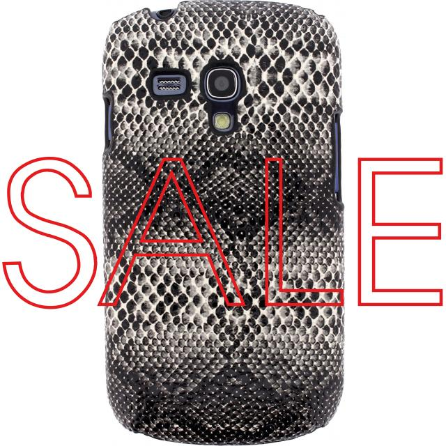 Afbeelding van Xccess Snake Cover Samsung Galaxy SIII Mini I8190 White