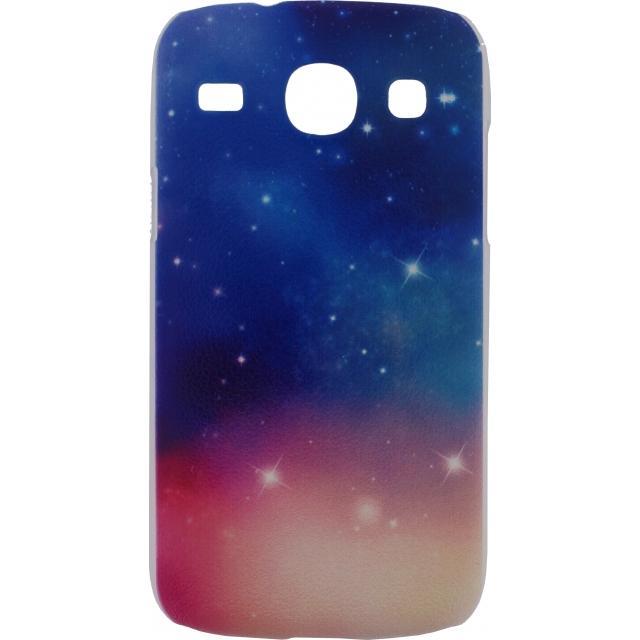 Afbeelding van Xccess Cover Samsung Galaxy Core I8260 Pink Sky
