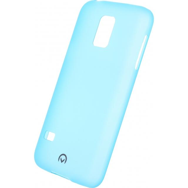 Afbeelding van Mobilize Gelly Case Ultra Thin Samsung Galaxy S5 Mini Neon Blue Mobi