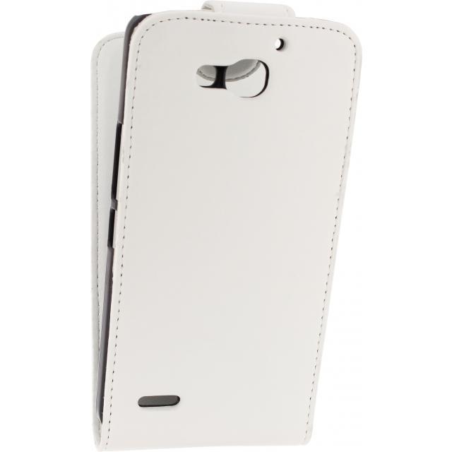 Afbeelding van Xccess Flip Case Huawei Ascend G750 White