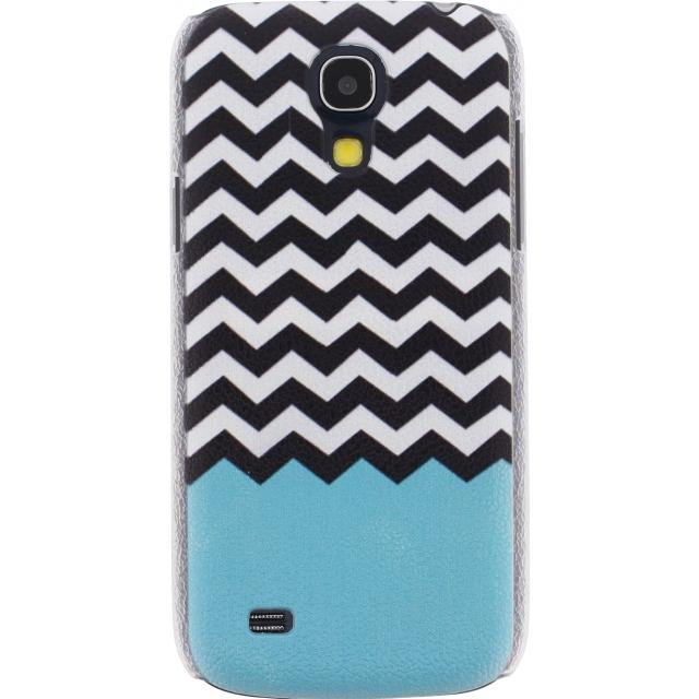 Xccess Cover Samsung Galaxy S4 Mini I9195 Turquoise Stripes Xccess Cover Samsung Galaxy S4 Mini I9195 Turquoise Stripes