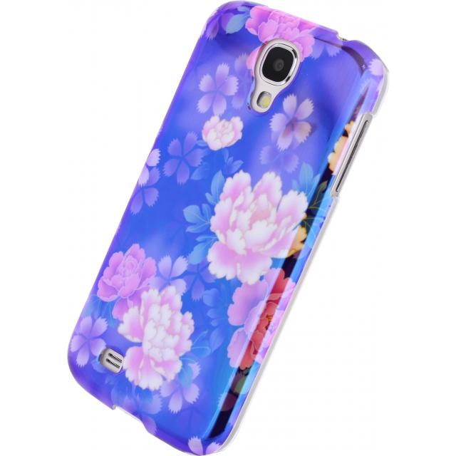 Xccess Oil Cover Samsung Galaxy S4 I9500/I9505 Purple Flower Xccess Oil Cover Samsung Galaxy S4 I9500/I9505 Purple Flower