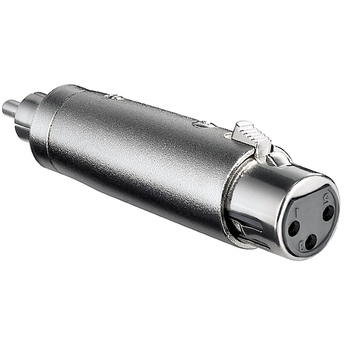 XLR - Tulp Verloop Connector 2: Tulp Male