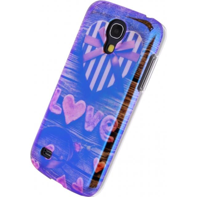 Afbeelding van Xccess Oil Cover Samsung Galaxy S4 Mini I9195 Love&Hate