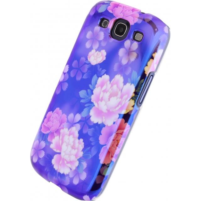 Xccess Oil Cover Samsung Galaxy SIII I9300 Purple Flower Xccess Oil Cover Samsung Galaxy SIII I9300 Purple Flower