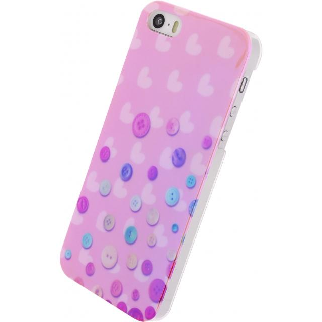 Afbeelding van Xccess Oil Cover Apple iPhone 5/5S/SE Buttons