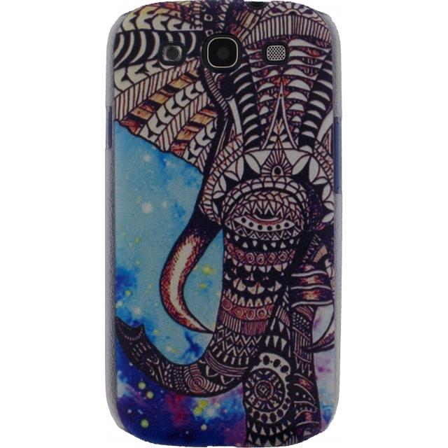 Afbeelding van Xccess Cover Samsung Galaxy SIII I9300 Blue Elephant
