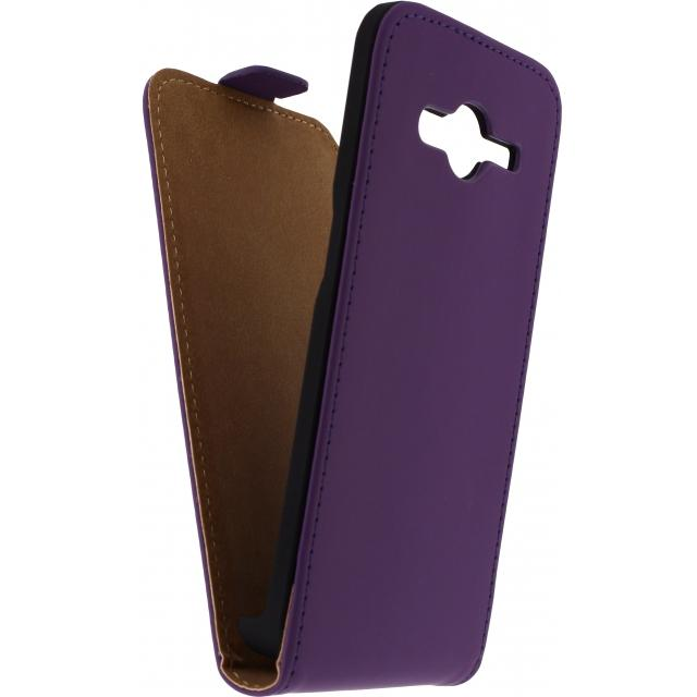 Afbeelding van Mobilize Ultra Slim Flip Case Samsung Galaxy S5 Mini Purple