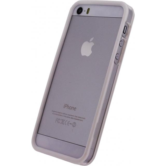 Afbeelding van Mobilize Bumper Case Apple iPhone 5/5S/SE White