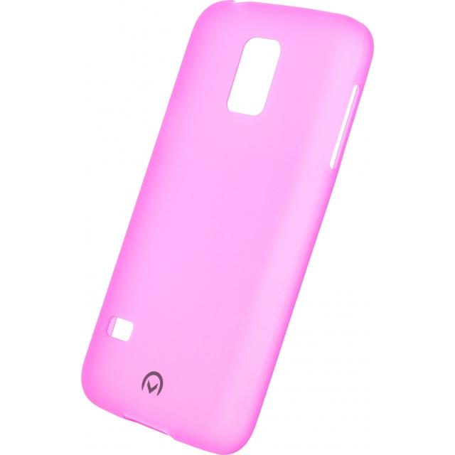Afbeelding van Mobilize Gelly Case Ultra Thin Samsung Galaxy S5 Mini Neon Fuchsia M