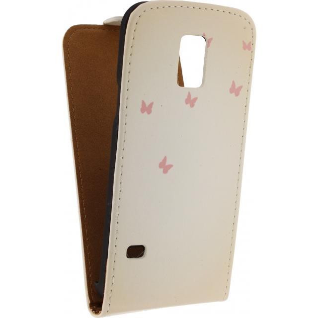 Afbeelding van Mobilize Ultra Slim Flip Case Samsung Galaxy S5 Mini Deer